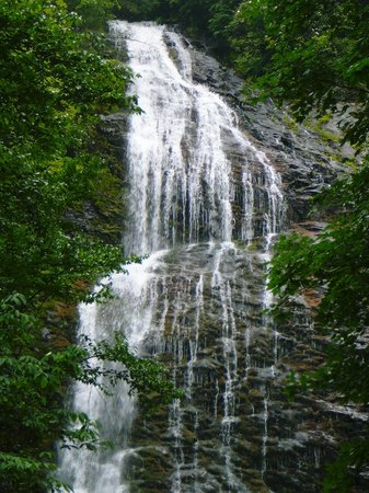 Cherokee, NC: Upper Portion of MIngo Falls