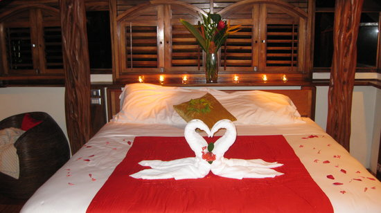 The Red Palm Villas: Good night ;)