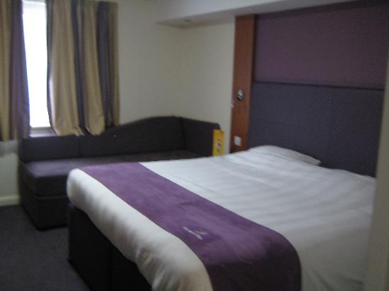 Premier Inn Silverstone: Nice comfy bed