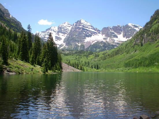 Hearthstone House: up at the Maroon Bells.