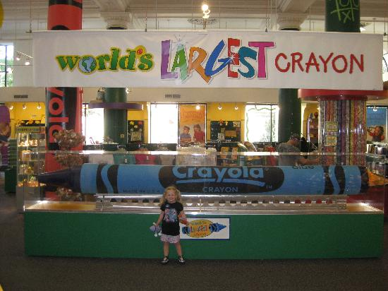 Easton, Pensilvania: Crayola Factory July 2009