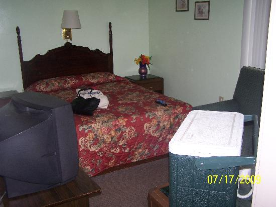 The Itascan Motel: this was the cute room