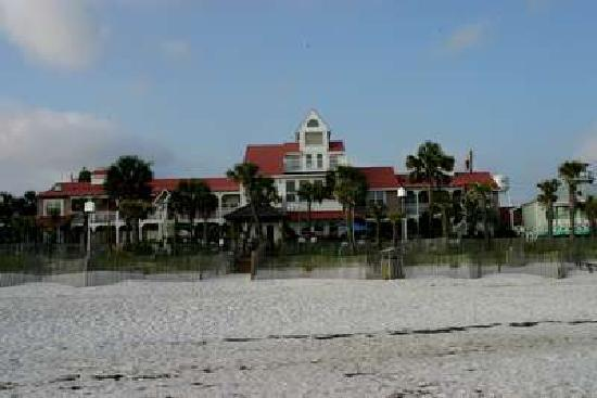 Driftwood Inn: from the beach