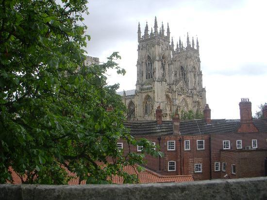 Number 34 Bed & Breakfast: York Minster from the city walls