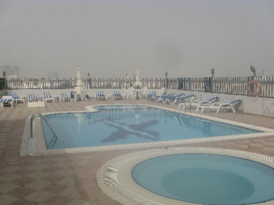 Roof top swimming pool picture of fortune boutique hotel for Fortune boutique hotel deira dubai