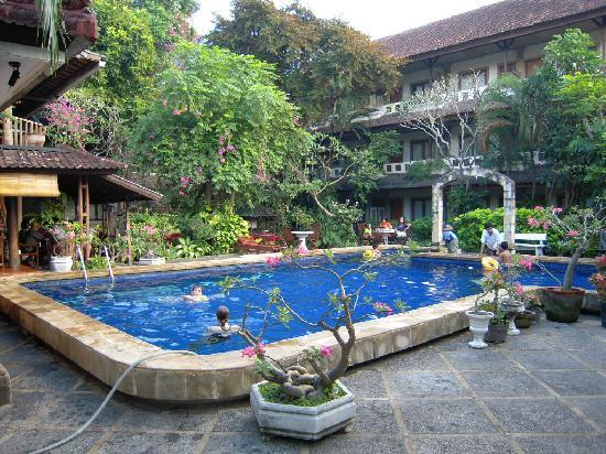 Terrible room picture of mastapa garden hotel kuta for Pool garden outlet