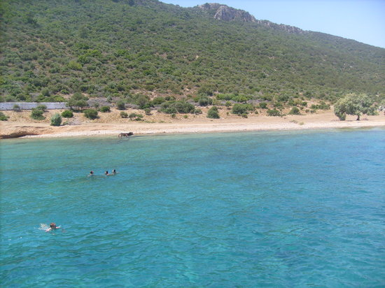 Gumbet, Turquie : blue sea 