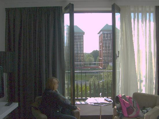 WestCord Fashion Hotel Amsterdam: room with a view