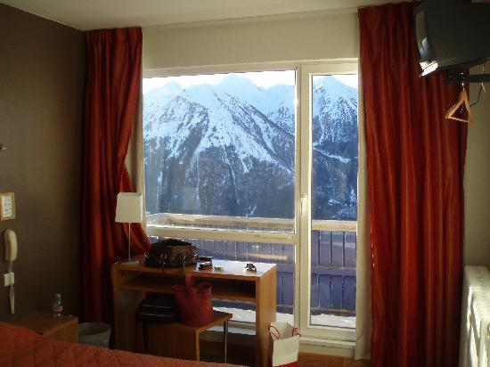 Saint-Lary Soulan, France : Room view 