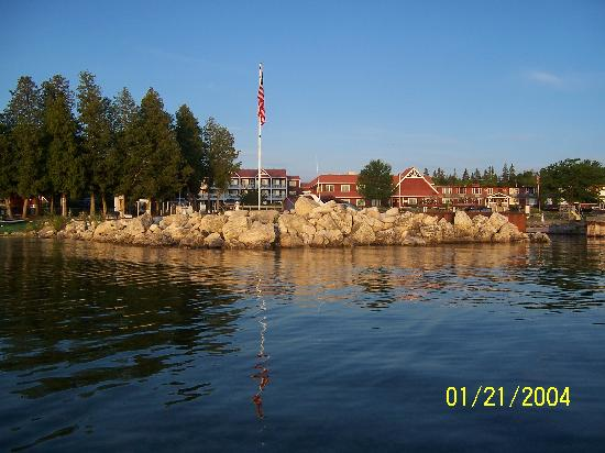 Ellison Bay, WI: The resort at daybreak