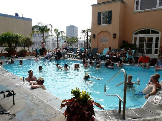 Roof Top Pool Picture Of Hotel Monteleone New Orleans