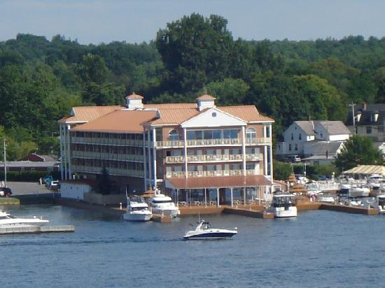 Hotel From Boldt Castle Picture Of Riveredge Resort