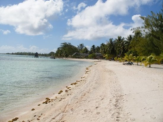 Tikehau, Franzsisch-Polynesien: Plage de la pension