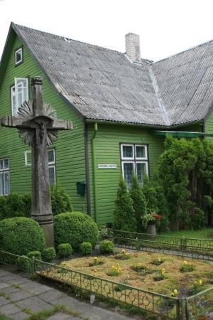 a typical Lithuanian house in Palanga (is it typical???)