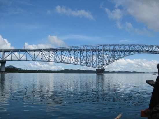 San Juanico Bridge, Tacloban, Philippines