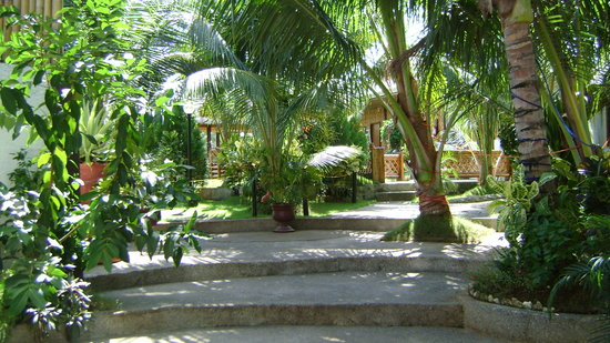 Panglao Island, Filippinerna: Entry to grounds