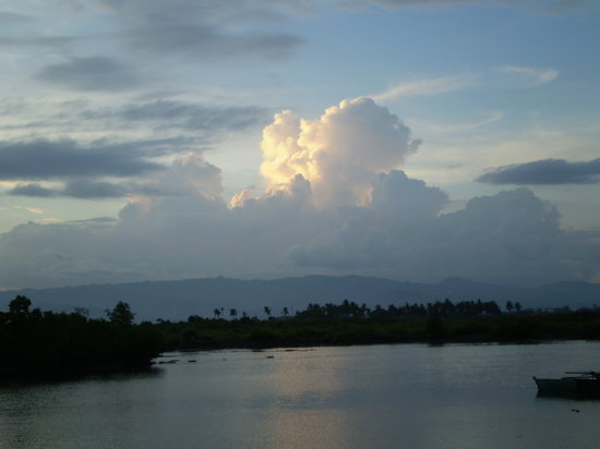 Cordova, Philippines: View from just outside Alta on its walkway over magrove swamp