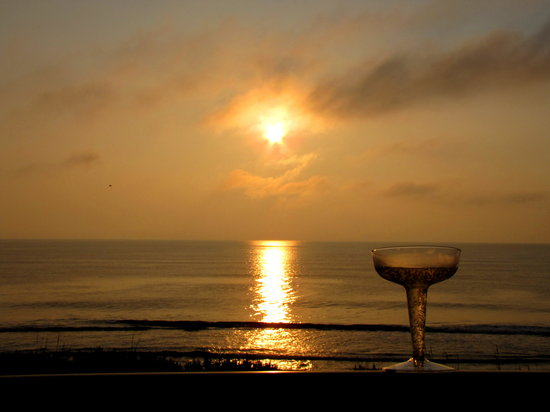  ,  : First morning champagne sunrise!