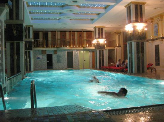 Celal Aga Konagi Hotel: One of the two swimming pools