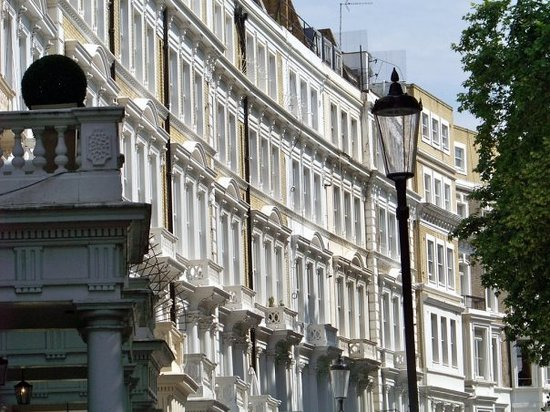 Kensington London England Address Neighborhood
