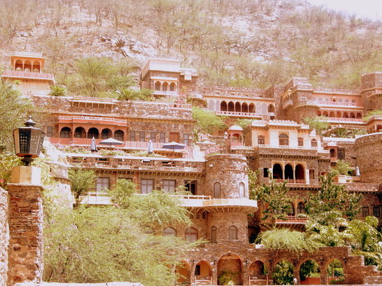 Alwar, India: The fort