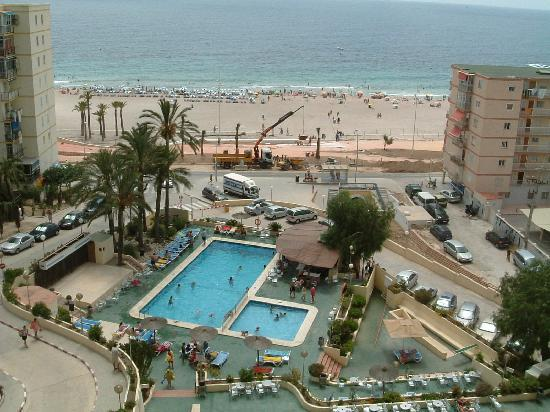 Picture from balcony hotel poseidon playa benidorm for Hotel poseidon benidorm