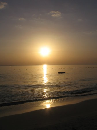 Moon Dance Villas: Another beautiful Negril sunset