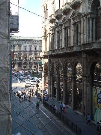 Hotel Rio: View from Balcony of Room 25 towards Piazza Duomo