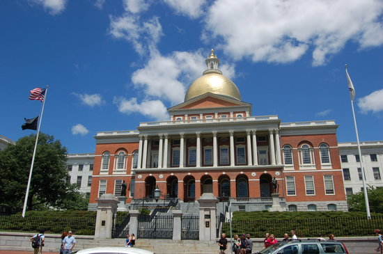 Boston, MA : Mass State House.