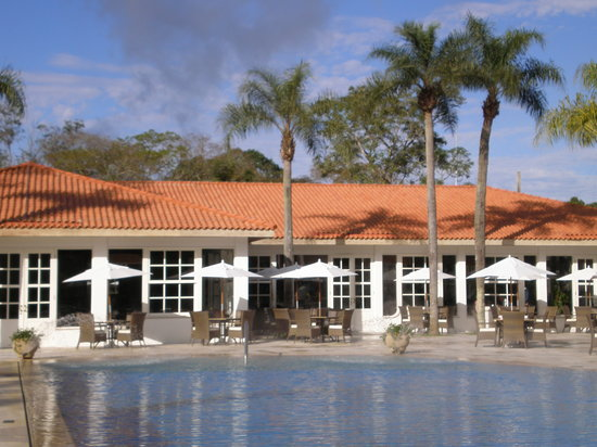 Hotel das Cataratas by Orient-Express: Restaurant and pool