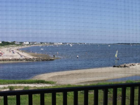 West Yarmouth, MA: view from the bedroom