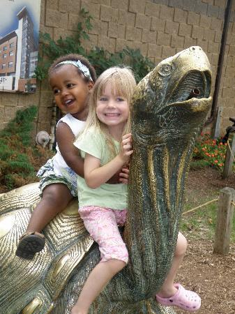 Staybridge Suites Middleton / Madison: grandchildren at the zoo