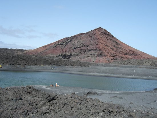 Lanzarote, Espagne : veduta da los herveideros 