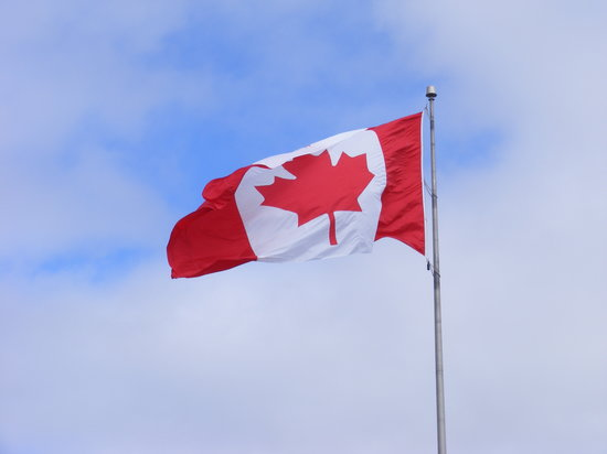 Halifax, Canada : The Canadian Flag