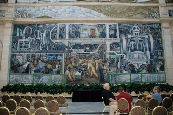 Diego rivera 39 s mural at the detroit institute of art for Diego rivera detroit mural