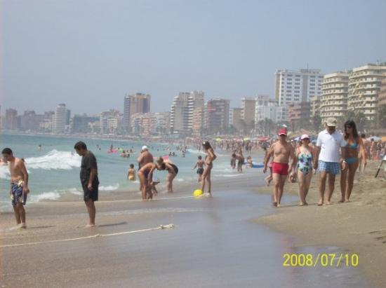 Playa Torreblanca, Spanien