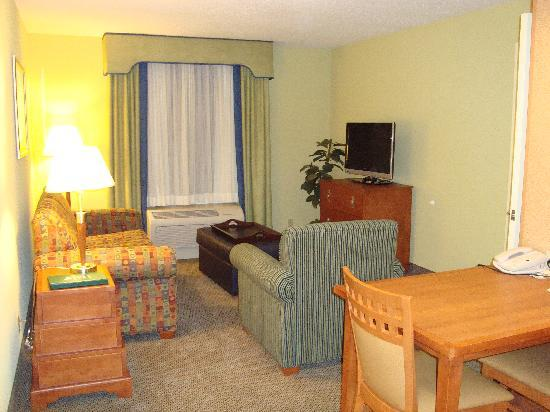 Homewood Suites New Windsor: Living area