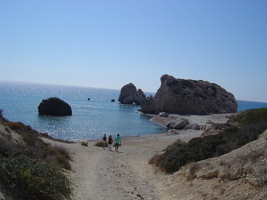 Paphos, Cyprus: Aphrodites Rock