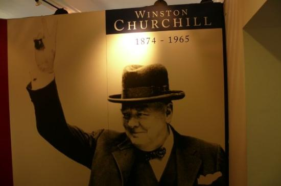 Westerham, UK: Churchill museum at Chartwell residence