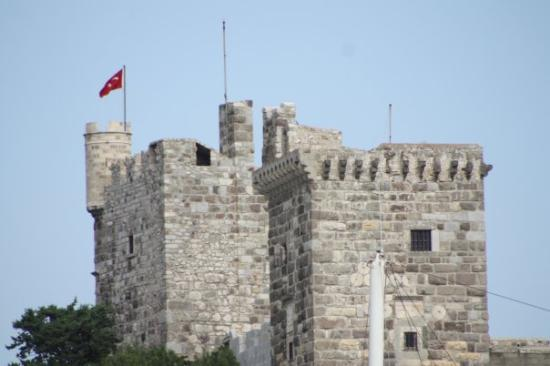 Bodrum harbour, Turkey, taken from Castle - Picture of Castle of St. Peter, B...