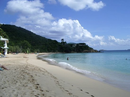 Virgin Islands National Park, Σεν Τζον: ..the beach...