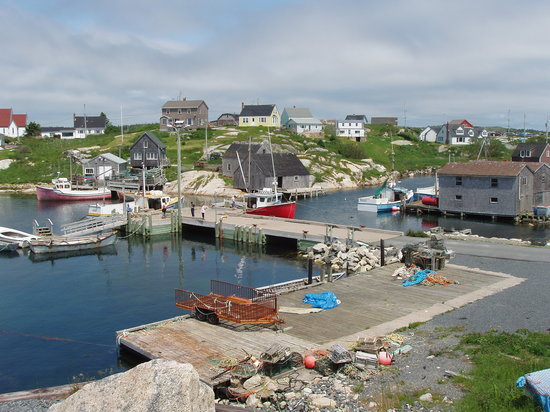 Halifax, Canada: peggys cove