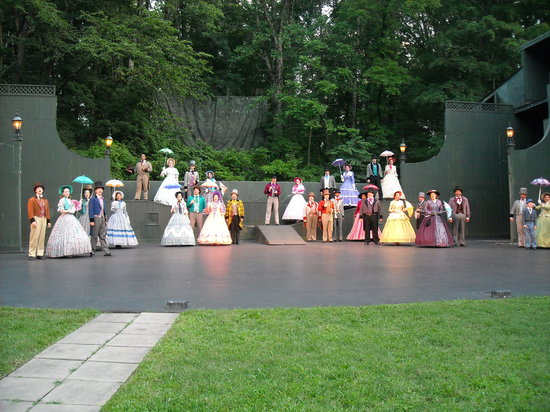 Bardstown, KY: Early in the musical