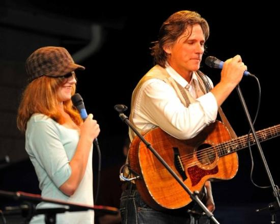 White Springs, : Billy Dean and his daughter Hannah
