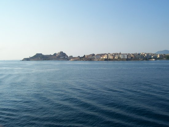 Corfu, Greece: Corf, dal traghetto
