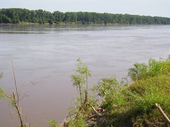 Saint Charles, : the Missouri River
