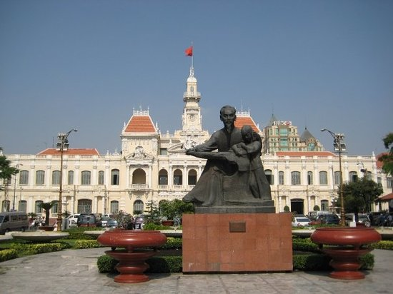 H Chi Minh-staden, Vietnam: Ho Chi Minh City, Vietnam (Saigon was the old name)