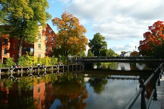 Autumn in Uppsala
