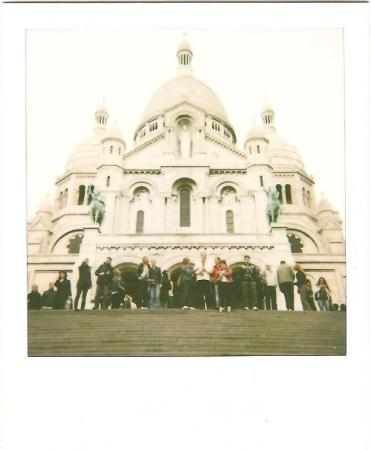 polaroid sacre couer picture of sacred heart basilica of montmartre sacre coeur paris. Black Bedroom Furniture Sets. Home Design Ideas