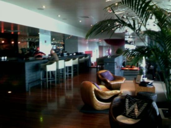 The lobby bar at the w w lakeshore chicago picture of for Irving hotel chicago